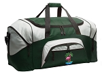 Flamingo Duffle Bag Green