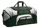 Don't Tread on Me Duffle Bag Green