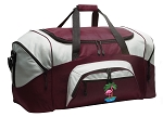 Flamingo Duffle Bag Maroon