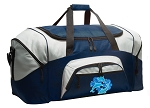 Large Dolphin Duffle Dolphins Duffel Bags