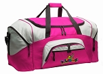 Peace Frogs Duffel Bag or Gym Bag for Women
