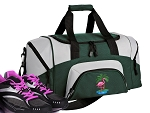 Flamingo Small Duffle Bag Green