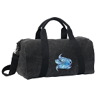 Turtle Duffel RICH COTTON Washed Finish Black