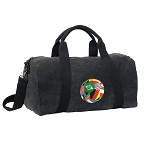 Soccer Duffel RICH COTTON Washed Finish Black