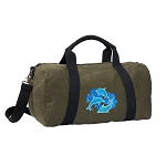 DOLPHIN Duffel RICH COTTON Washed Finish Khaki