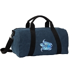 Turtle Duffel RICH COTTON Washed Finish Blue