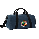 Soccer Duffel RICH COTTON Washed Finish Blue