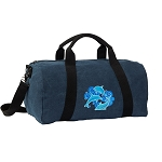 DOLPHIN Duffel RICH COTTON Washed Finish Blue
