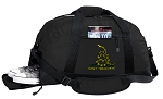 Don't Tread on Me Duffel Bag with Shoe Pocket