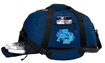 BLUE CRAB Duffle Bag w/ Shoe Pocket