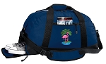 Flamingo Duffle Bag w/ Shoe Pocket