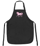 Cute Horse Deluxe Apron