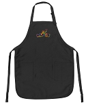 Peace Frogs Deluxe Apron