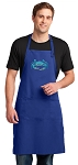 BLUE CRAB Large Apron Royal