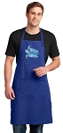 Turtle Large Apron Royal