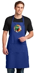 Soccer Large Apron Royal