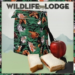 Wolf Bear Deer Insulated Lunch Cooler Bags