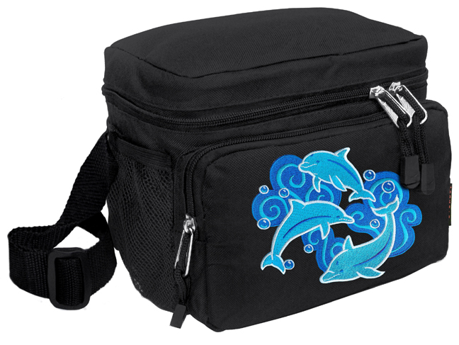 Dolphins Lunch Box Cooler Bag