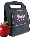 Cute Horse Lunch Bag 2 Section