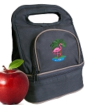 Flamingo Lunch Bag 2 Section