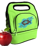 Christian Lunch Bag 2 Section Lime