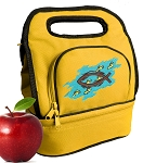 Christian Lunch Bag 2 Section Gold