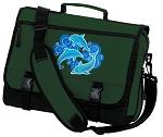 Dolphins Lover Messenger Bag Green