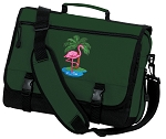 Flamingo Messenger Bag Green