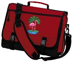 Flamingo Messenger Bag Red