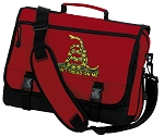 Don't Tread on Me Messenger Bag Red