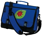 Ladybugs Messenger Bag Royal