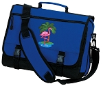 Flamingo Messenger Bag Royal