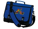 Peace Frogs Messenger Bag Royal