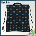 BLUE CRAB Drawstring Backpacks