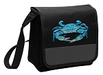 BLUE CRAB Lunch Bag Cooler Black