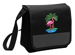 Flamingo Lunch Bag Cooler Black