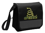 Don't Tread on Me Lunch Bag Cooler Black
