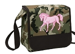 Cute Horse Lunch Bag Cooler Camo