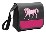 Cute Horse Lunch Bag Cooler Pink