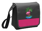 Flamingo Lunch Bag Cooler Pink
