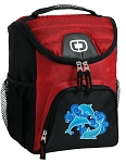 DOLPHINS Best Lunch Bag Cooler Red