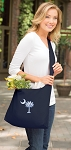 South Carolina Tote Bag Sling Style Navy