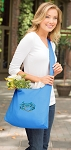 BLUE CRAB Tote Bag Sling Style Turquoise
