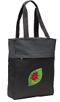 Ladybug Tote Bag Everyday Carryall Black