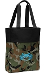 BLUE CRAB Tote Bag Everyday Carryall Camo