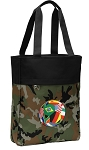 Soccer Tote Bag Everyday Carryall Camo