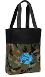DOLPHIN Tote Bag Everyday Carryall Camo