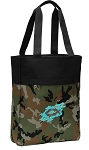 Christian Tote Bag Everyday Carryall Camo