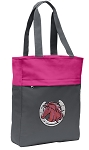 Horse Tote Bag Everyday Carryall Pink