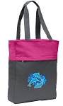 DOLPHINS Tote Bag Everyday Carryall Pink